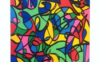 In my brain – Artwork