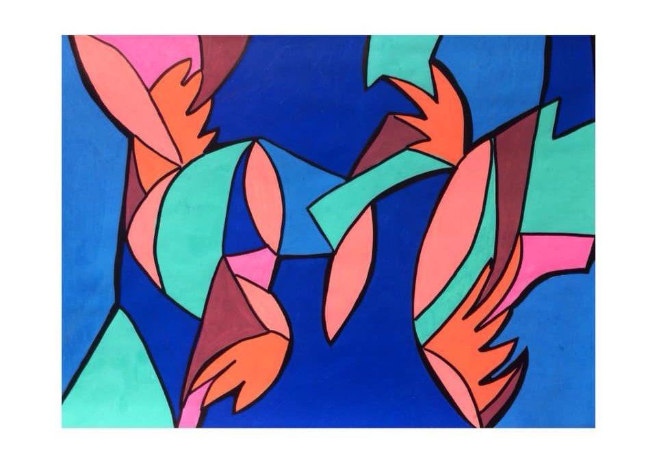 Des couleurs et des formes.